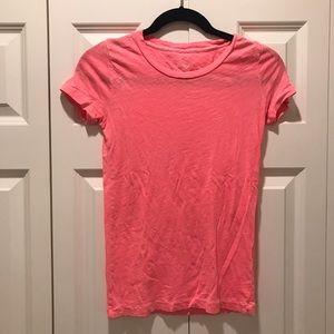 J. Crew Tops - J. Crew Hot Pink T-Shirt